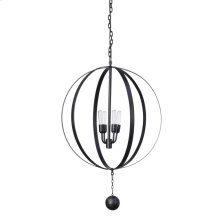 Moldova Iron Ball Chandelier