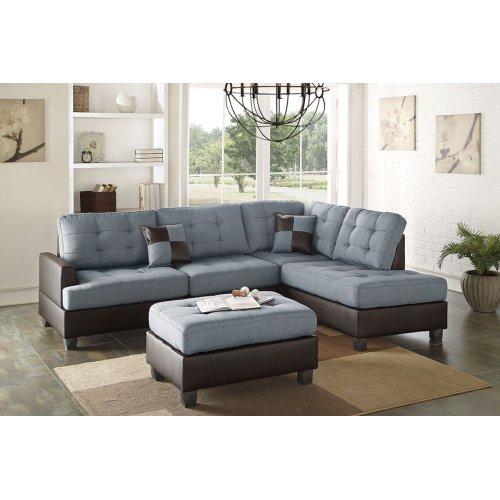F6858 in by Poundex in Phoenix, AZ - 3-pcs Sectional Sofa