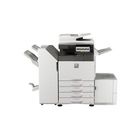 40 ppm B&W and Color networked digital MFP