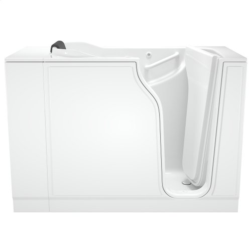 Gelcoat Premium Series 30x52-inch Walk-In Bathtub with Air Spa System  American Standard - White