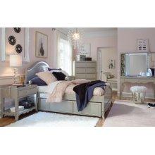 Glitz & Glam Panel Bed, Full 4/6