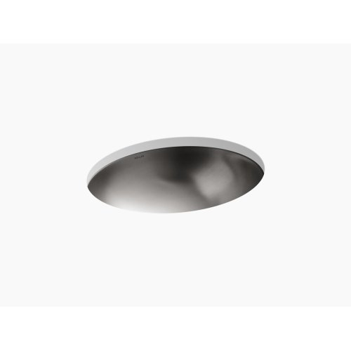 Drop-in/under-mount Bathroom Sink With Luster Finish, No Overflow