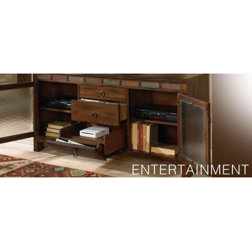 """60"""" TV Console w/ Game Drawer"""