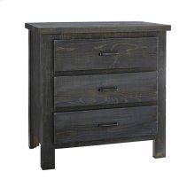 Nightstand - Charcoal Finish