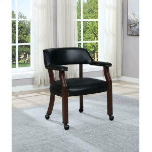 CoasterModern Black Guest Chair