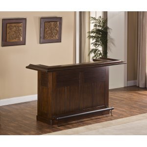 Hillsdale FurnitureClassic Large Bar, Brown Cherry Finish