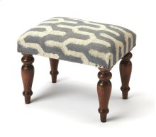 Lend an classic touch to any ensemble or seating group with this primitive vanity stool, the perfect balance of low-key looks and traditional appeal in your space. Pull it up to a vanity in the master suite, need an extra seat in the living room for this