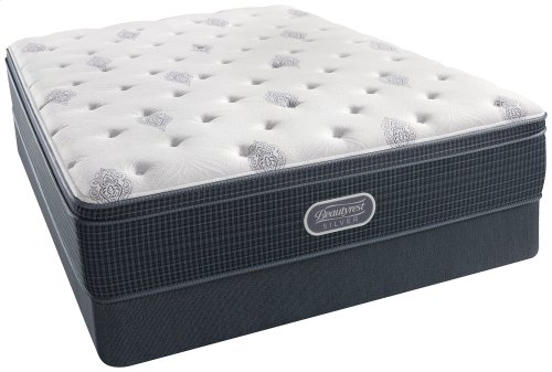 BeautyRest - Silver - Open Seas - Firm - Euro Top - Twin