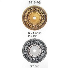 Geneve Back Plate/ See Matching Knob 7179