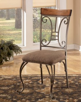 Cimeran Dining UPH Side Chair Round Table 4/CN