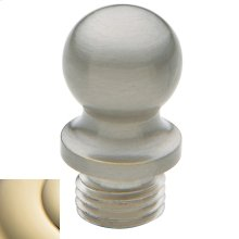 Lifetime Polished Brass Ball Finial