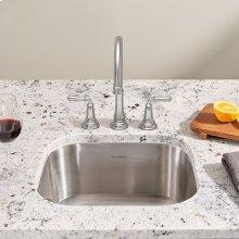 Portsmouth Undermount 18x16 Single Bowl Kitchen Sink  American Standard - Stainless Steel