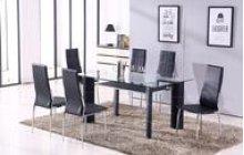Star 7PC Black Table