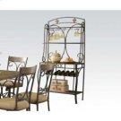 Baker's Rack W/slate Decor Product Image