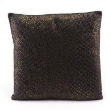 Metallic Pillow Black & Copper