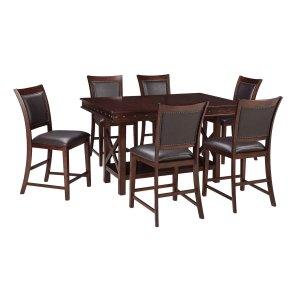 Ashley Furniture Collenburg - Dark Brown 5 Piece Dining Room Set