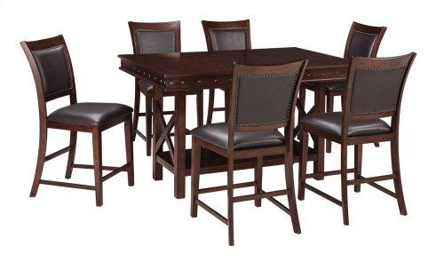 Collenburg - Dark Brown 5 Piece Dining Room Set