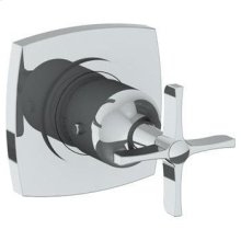 """Wall Mounted Thermostatic Shower Trim, 3 1/2"""""""