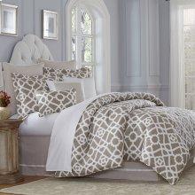 9pc Queen Comforter Set Natural