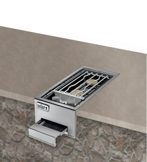 Summit® Built-In Dual Side Burner LP