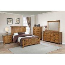 Brenner Rustic Honey Eastern King Bed