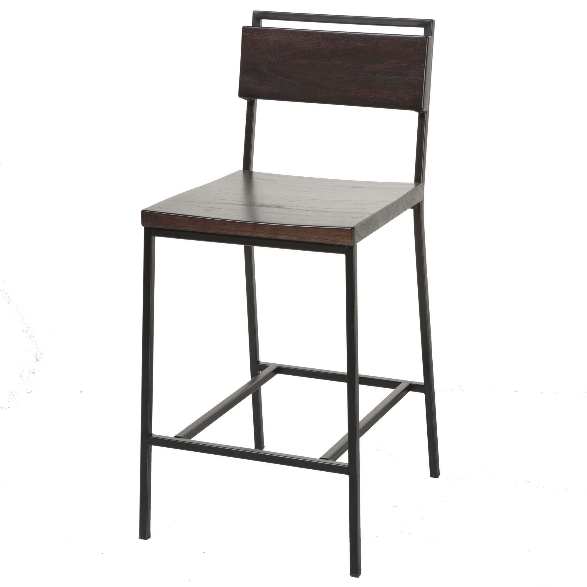 C1x120fashion Bed Group Olympia Bar Stool With Black Matte Finished