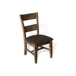 Sunny DesignsHomestead Ladderback Chair w/ Cushion Seat
