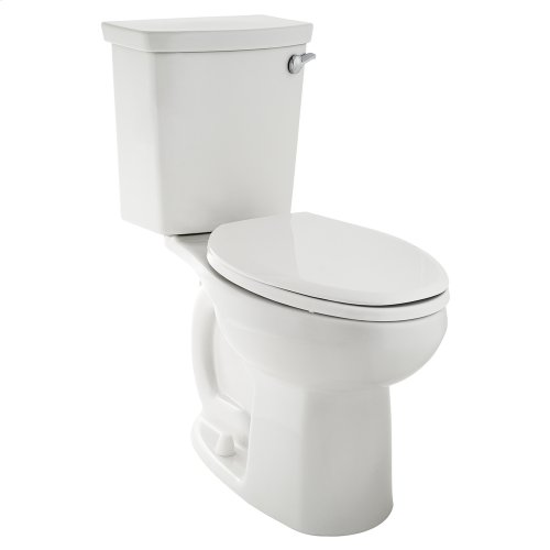 H2Optimum Siphoinuc Elongated Toilet with Right Hand Trip Lever  American Standard - White