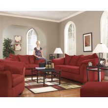 Ashley Sofa & Love Seat Package - Darcy - Salsa