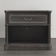 Anchor Grey Martinique Open Nightstand Product Image