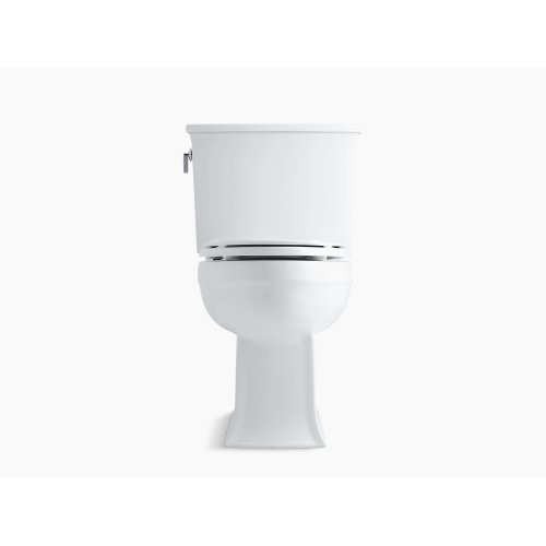 Cashmere Comfort Height Two-piece Elongated 1.28 Gpf Toilet With Aquapiston Flushing Technology, Seat Not Included