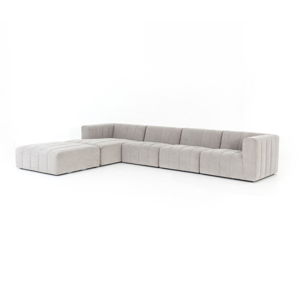 Langham Channeled 4-pc Laf Sectional W/