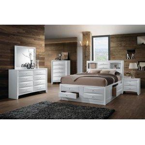 IRELAND WHITE FULL BED