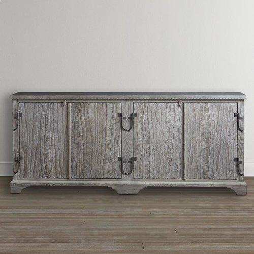 """Antiquities 75"""" Boatmaker's Cabinet"""