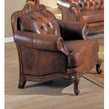 Victoria Traditional Tri-tone Chair