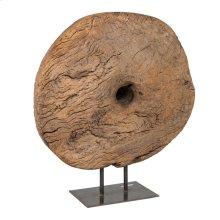 Wood Wheel On Stand SFK