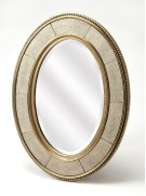 An elegant but understated reflection on contemporary style, the Champange wall mirror will enlighten any interior it inhabits. Beveled edge mirror framed by mirrored inserts brings an understated elegance, set it above your entryway console table for a Product Image