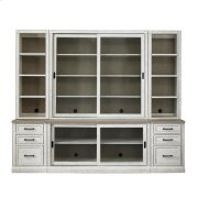 """Bella 100"""" Library Bookcase Product Image"""