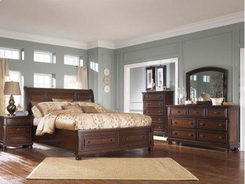 Porter - Rustic Brown 2 Piece Bedroom Set