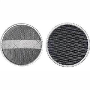 "BroanType Xh2 Non-Ducted Replacement Charcoal Filter 8.0"" Diameter x .059"""