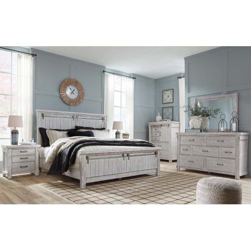 Brashland White 2 Piece Bedroom Set
