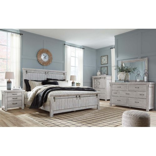 Brashland - White 2 Piece Bedroom Set