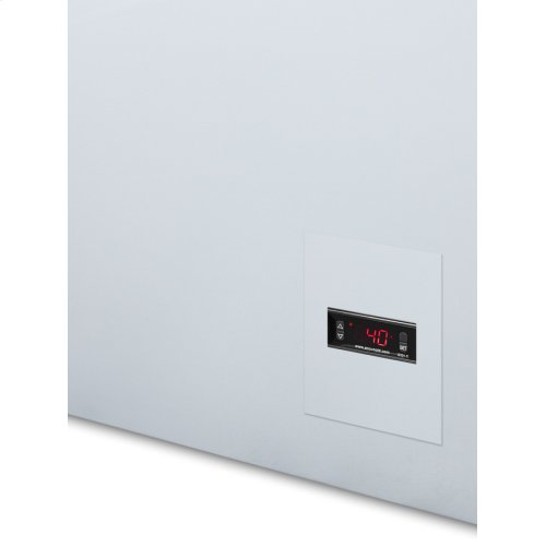 Commercially Listed 8 CU.FT. Frost-free Chest Refrigerator In White With Digital Thermostat for General Purpose Applications; Replaces Scfr70
