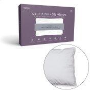 Sleep Plush + GelSoft Medium Density Fiber Pillow, Standard / Queen Product Image