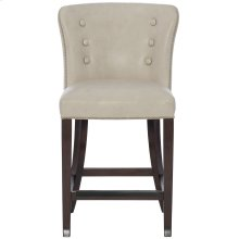 Denford Leather Counter Stool in Cocoa