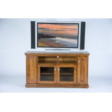 "A-T238 Traditional Alder 56"" TV Console"