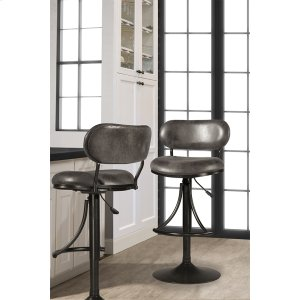 Hillsdale FurnitureAthena Swivel Adjustable Stool - Black
