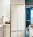 "30"" Sub-Zero 611 Over-Under Bottom Freezer Refrigerator Overlay, Accepts Custom Panels, with Ice Maker Product Image"