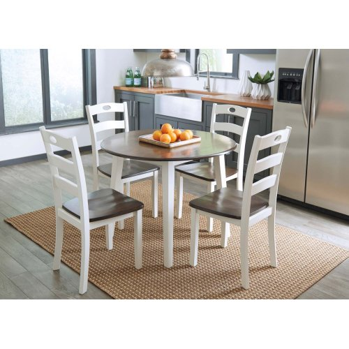 Woodanville - Cream/Brown 3 Piece Dining Room Set