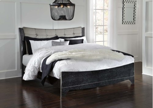 Amrothi - Black 3 Piece Bed Set (King)